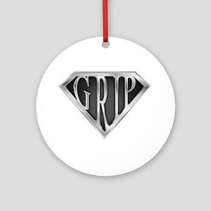SuperGrip(metal) Ornament (Round)