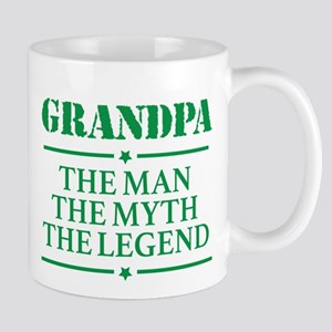 Grandpa Man Myth Legend Mugs