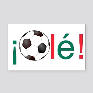 Ole - Mexican Football (Soccer) Chant Rectangle Ca