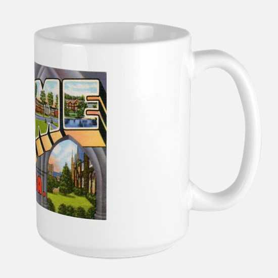 Rome Georgia Greetings Large Mug
