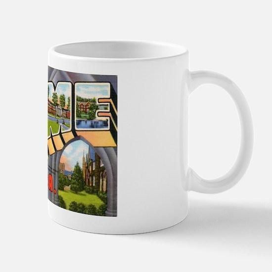 Rome Georgia Greetings Mug