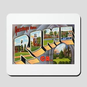Rome Georgia Greetings Mousepad