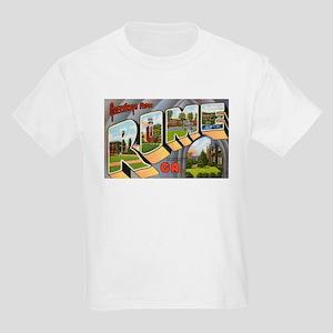 Rome Georgia Greetings (Front) Kids Light T-Shirt