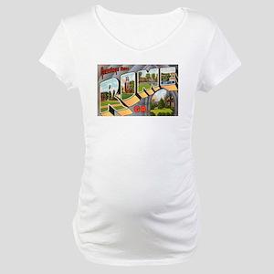 Rome Georgia Greetings (Front) Maternity T-Shirt