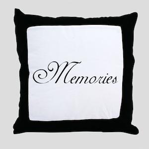 Memories Classic Throw Pillow