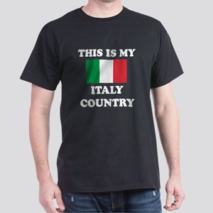This Is My Italy Country Dark T-Shirt