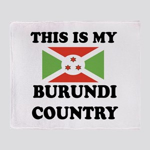 This Is My Burundi Country Throw Blanket
