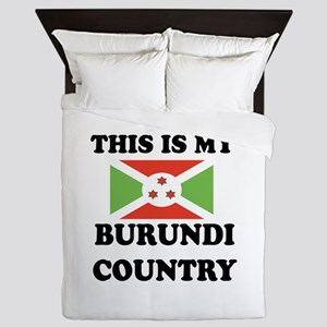 This Is My Burundi Country Queen Duvet