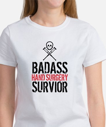 Badass Hand Surgery Survivor T-Shirt