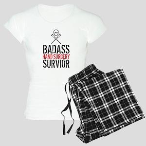 Badass Hand Surgery Survivo Women's Light Pajamas