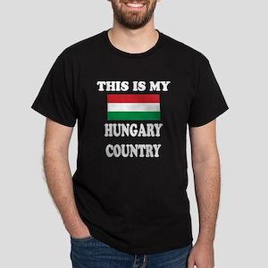 This Is My Hungary Country Dark T-Shirt