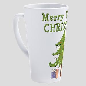 Vegan Christmas 17 Oz Latte Mug