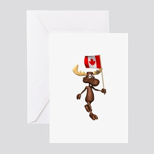 Cute Canadian Moose Greeting Cards (Pk of 20)