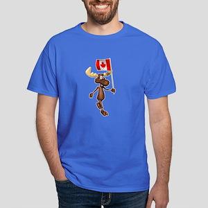 Cute Canadian Moose Dark T-Shirt