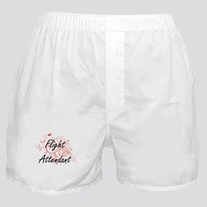 Flight Attendant Artistic Job Design Boxer Shorts