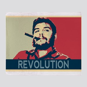 Che Guevara, hope poster landscape Throw Blanket