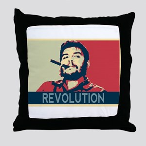 Che Guevara, hope poster landscape Throw Pillow