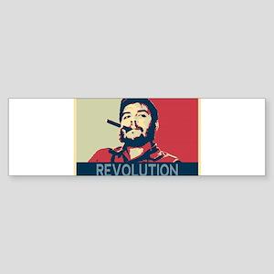 Che Guevara, hope poster landscape Bumper Sticker