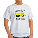 Christmas Rock Truck Light T-Shirt