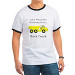 Christmas Rock Truck Ringer T