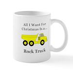 Christmas Rock Truck Mug