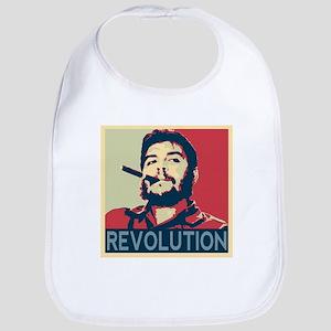 Che Guevara, hope poster square Bib