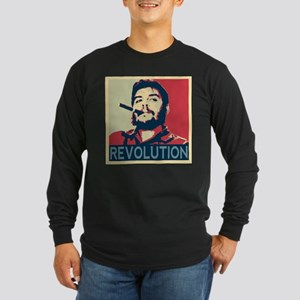 Che Guevara, hope poster squar Long Sleeve T-Shirt