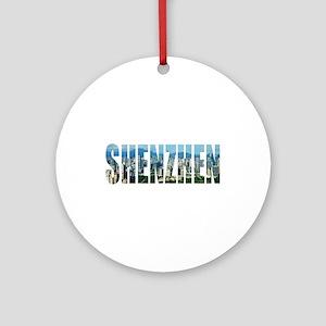 Shenzhen Round Ornament