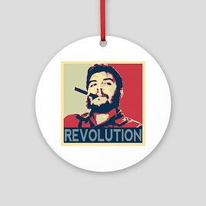 Che Guevara, hope poster square Round Ornament