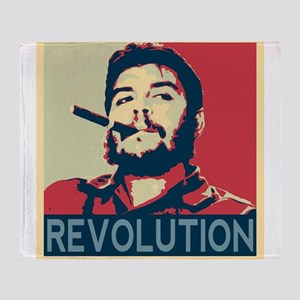 Che Guevara, hope poster square Throw Blanket