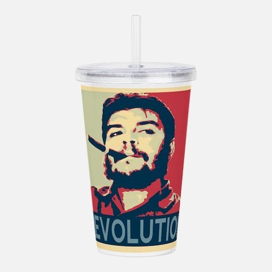 Che Guevara, hope post Acrylic Double-wall Tumbler