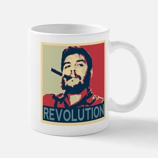 Che Guevara, hope poster square Mugs