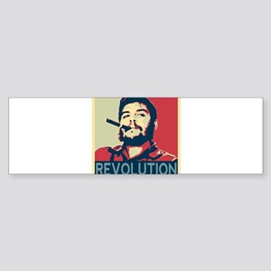Che Guevara, hope poster square Bumper Sticker