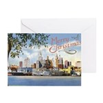 New Orleans Christmas Art Greeting Cards (Pk of 20
