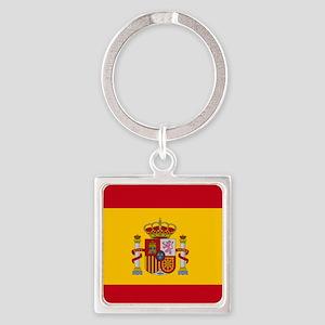 Spanish Flag Keychains