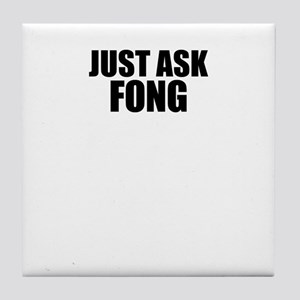 Just ask FONG Tile Coaster
