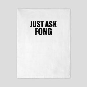 Just ask FONG Twin Duvet