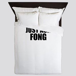 Just ask FONG Queen Duvet