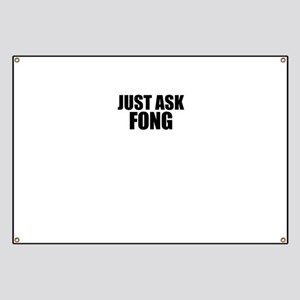 Just ask FONG Banner