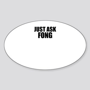 Just ask FONG Sticker
