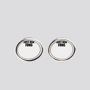 Just ask FONG Oval Cufflinks