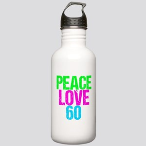 Peace Love 60 Stainless Water Bottle 1.0L
