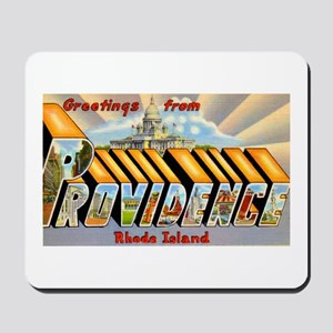 Providence Rhode Island Greetings Mousepad