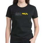 Christmas Off Road Truck Women's Dark T-Shirt