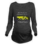 Christmas Off Road T Long Sleeve Maternity T-Shirt