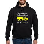 Christmas Off Road Truck Hoodie (dark)