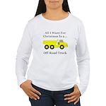 Christmas Off Road Tru Women's Long Sleeve T-Shirt
