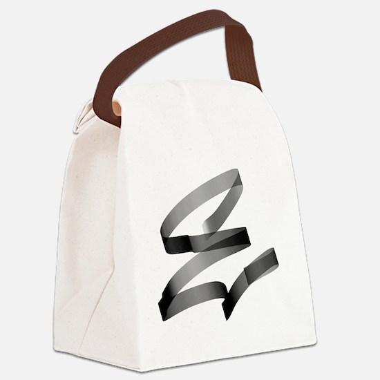 Unique Name tag Canvas Lunch Bag