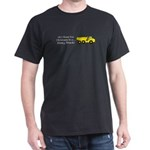 Christmas Dump Truck Dark T-Shirt