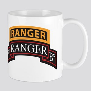 1st Ranger BN Scroll with Ran Mugs